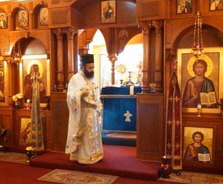 Greek Orthodox church alter